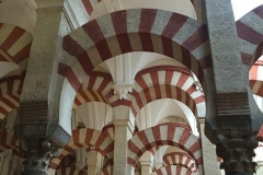 Yet more of the mesmerising beauty of the the interior of La Mezquita - Cathedral of Córdoba