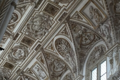 The ceiling of the The Cathedral of Córdoba