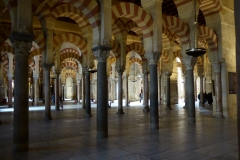 More of the mesmerising beauty of the the interior of La Mezquita - Cathedral of Córdoba