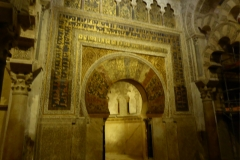 The Mihrab at La Mezquita - Cathedral of Córdoba
