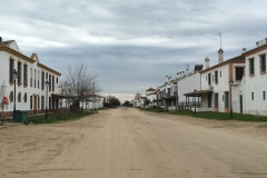 The streets of El Rocio