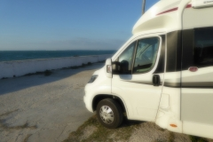 Parked up at Aire in Cadiz