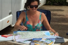 Toledo, planning the route