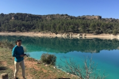 Lagunas de Ruidera Karen beautiful in Blue