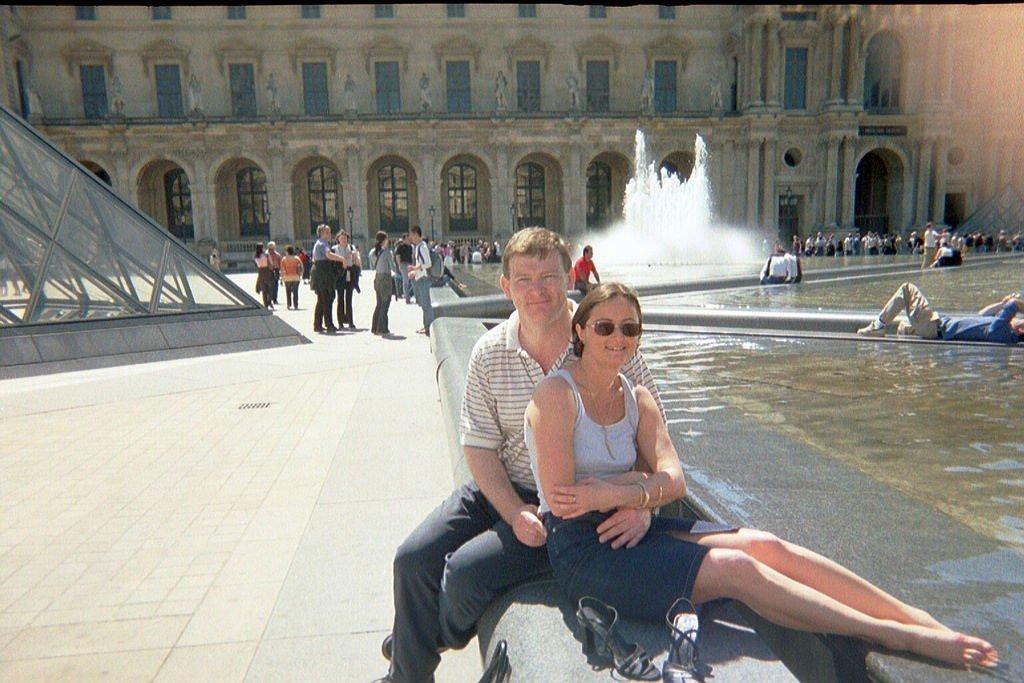 Us in Paris 2003