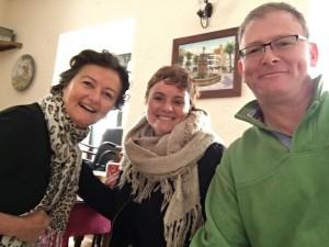 The Gappers with their wonderful teacher Manoli