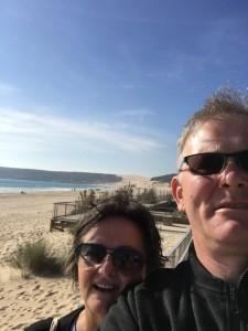 The Gappers on Bolonia Beach