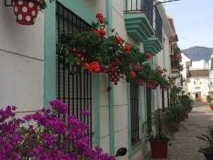 Old Estepona streets.