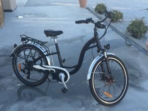 'Ruby' Karen's replacement bike.