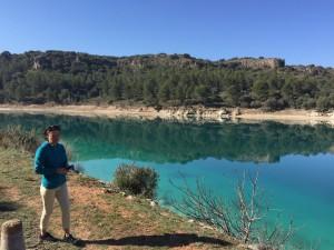 Lagunas de Ruidera Karen beautiful in Blue