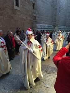 Toledo, procession on Holy Saturday