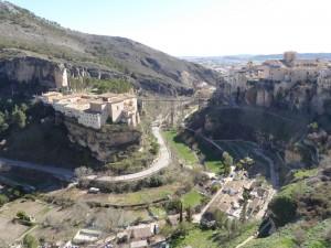 Cenuca, World heritage site, the Parado ron the left