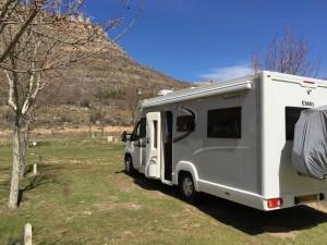 Idyllic location Camping La Serradora, Peralejos de las Truchas