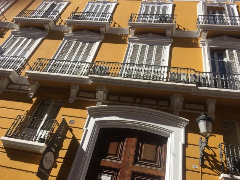 Valencia a lovely streetscape