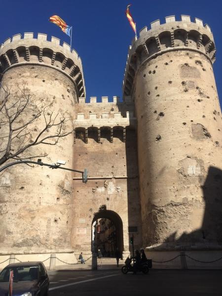 Valencia City Wall
