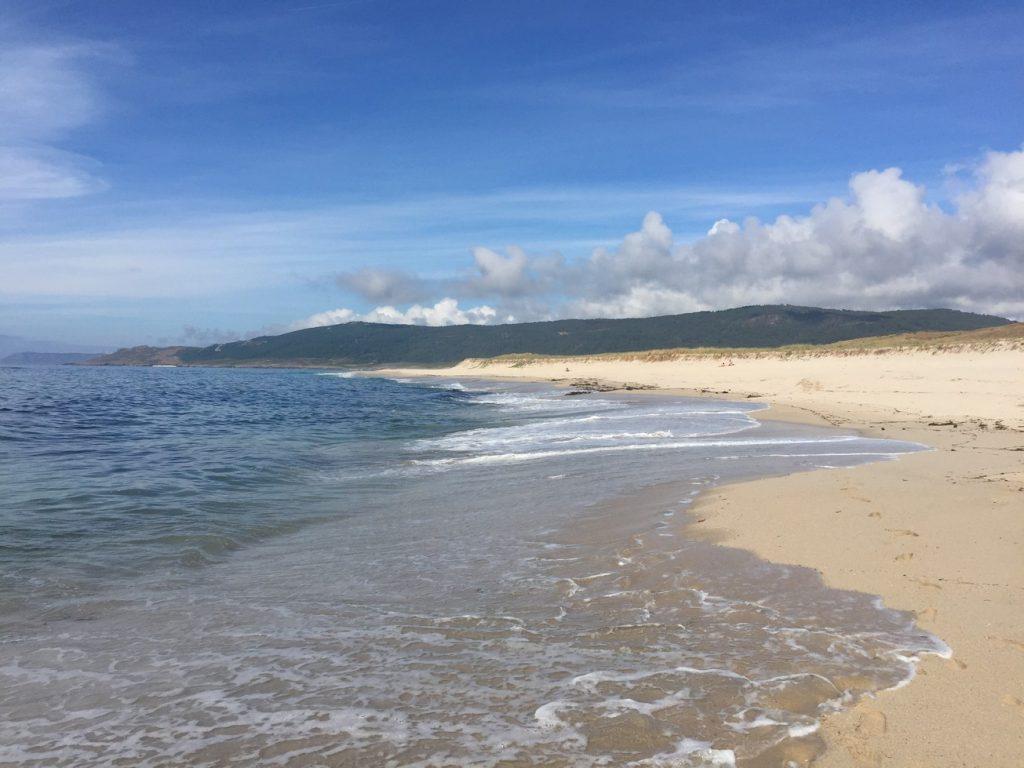 Our freedom camp beach.