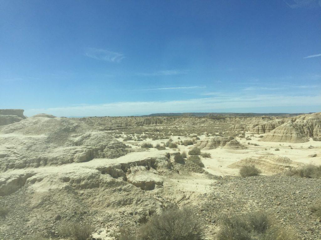 A Man Made desert.