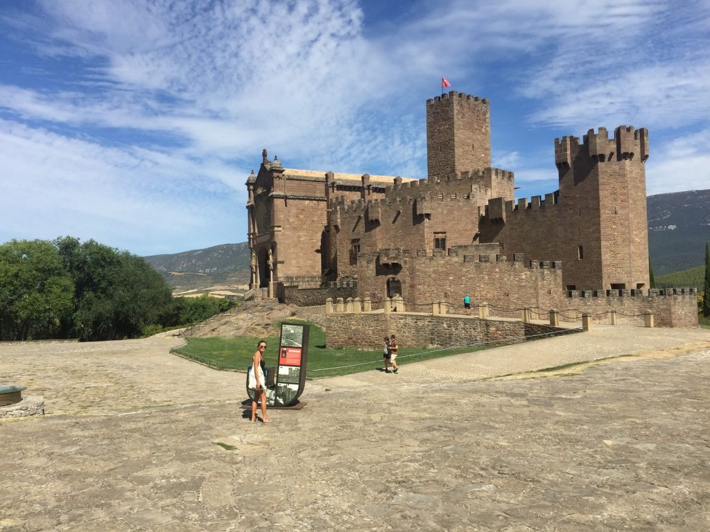 Javier, a medieval Castle straight out of the story books.